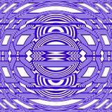 För modellabstrakt begrepp för idérik stam- stil sömlös vektor för illustration för bakgrund Royaltyfri Foto