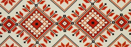 För modellabstrakt begrepp för röd och vit fyrkant bakgrund för textur arkivbilder
