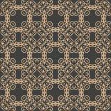 För modellbakgrund för vektor design för signal för damast sömlöst retro för spiral för kurva för kors orientaliskt för ram vapen vektor illustrationer