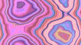 För modelltextur för agat stenig sömlös bakgrund - pastell behandla som ett barn rosa blå purpurfärgad violett färg med slät ytte stock illustrationer