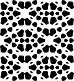För modellvektor för svartvit repetition sömlös design för bild Arkivbild