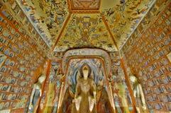 För Mogao för Dunhuang frescoesï¼ ¼ för ï grottor arkivbilder