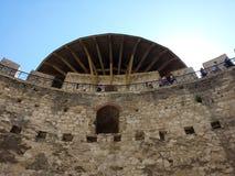 för moldova för gruppdniester Europa fästning soroca flod Arkivfoto