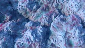För molnbakgrund 3d för kemikalie blå tjock tolkning vektor illustrationer
