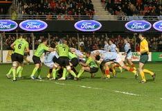 för montauban för 14 match usap för överkant rugby vs Royaltyfria Bilder