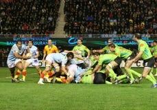 för montauban för 14 match usap för överkant rugby vs Fotografering för Bildbyråer