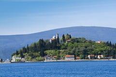 för montenegro för hus medelhavs- by sten Arkivfoton
