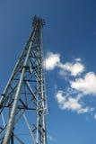 för moscow för områdesstadsdmitrov vinter för torn för telekommunikation natt Fotografering för Bildbyråer