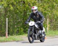 för motorbikenorton för 20 ändring tappning Royaltyfri Fotografi