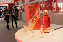 För Moutai för Shanghai expoutställning uppehälle lyx Royaltyfria Bilder