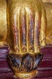 För Mudra för stor jordvittne hand stark Buddha Arkivbild