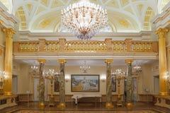 för museumlokal för guld historiskt tillstånd Royaltyfri Fotografi