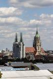 För mycket av de Oktoberfest tälten på Theresienwiese i Munich, 20 Royaltyfri Bild