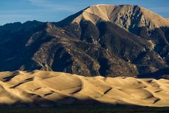 för nationalparkpreserve för dyner stor sand Arkivbild