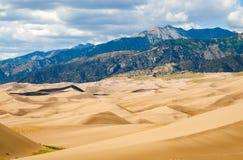 för nationalparkpreserve för dyner stor sand Royaltyfria Bilder