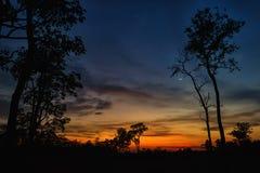 För natten Arkivbilder