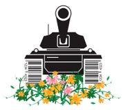 För natur consumerism kontra royaltyfri illustrationer