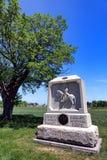 För New York för Gettysburg nationalpark 8th minnesmärke kavalleri Royaltyfri Fotografi
