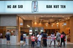 För NG som AH SIO Bak Kut lokaliseras på semesterortvärlden Sentosa Royaltyfri Foto