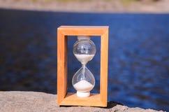 för objekttid för bakgrund begrepp isolerad white Royaltyfri Fotografi