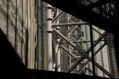 för oljeförädling för utrustning industriell nyast zon royaltyfria bilder