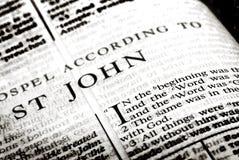 För ordnegro spiritual för bibel helig religion arkivbild