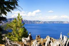 för oregon för kraterlake nationell wa park Royaltyfri Bild