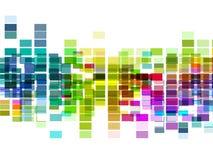 för orienteringsmosaik för 10 eps multicolor vektor Royaltyfri Foto