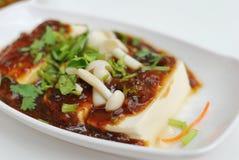 för ostmassaläckerhet för böna kinesisk vegetarian Royaltyfri Bild