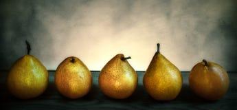 För päron konst fortfarande royaltyfri foto