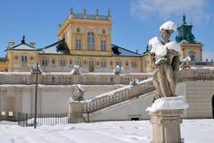 ³ för PaÅ 'ac Wilanà med den Wilanow slotten Royaltyfria Bilder
