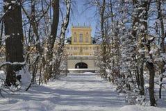 ³ för PaÅ 'ac Wilanà med den Wilanow slotten Royaltyfri Bild
