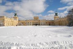 ³ för PaÅ 'ac Wilanà med den Wilanow slotten Royaltyfria Foton