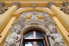 ³ för PaÅ 'ac Wilanà med den Wilanow slotten Arkivbilder