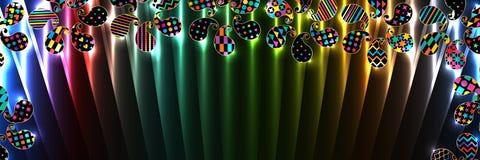 För Paisley linje baner RGB enkelt formöverkant royaltyfri illustrationer