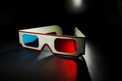 För pappersexponeringsglas för tappning 3D bakgrund för svart för onb Fotografering för Bildbyråer