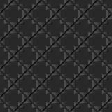 för papperskonst för mörker 3D kontroll Diamond Cross Frame för triangel Arkivbilder