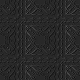 för papperskonst för mörker 3D linje för vinranka för ram för kors för fyrkant för spiral för kurva stock illustrationer