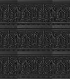för papperskonst för mörker 3D Shape för fan för kors för kurva blad Dot Line royaltyfri illustrationer