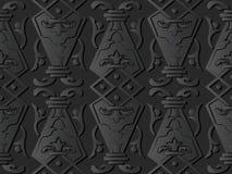 för papperskonst för mörker 3D växt för kurva för ram för kors för kontroll för polygon stock illustrationer