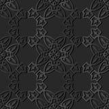 för papperskonst för mörker 3D vapen för ram för kurva för kors för kontroll för polygon stock illustrationer