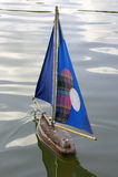 för paris för jardin för fartygdes france trätuileries segling fotografering för bildbyråer