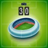för paris för 01 stad stadion fotboll Arkivbild