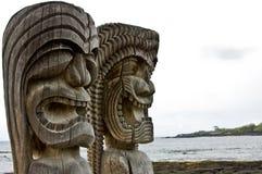för parkpu för historisk honaunau nationell o uhonua Arkivfoto