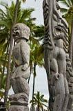för parkpu för historisk honaunau nationell o uhonua Fotografering för Bildbyråer