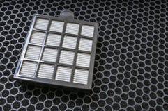 För partikel- och kolluft för hög effektivitet filter royaltyfri bild