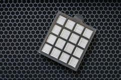 För partikel- och kolluft för hög effektivitet filter royaltyfri foto