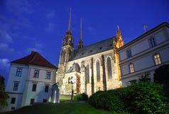 för paul peter för brno domkyrka tjeckisk st republik Arkivfoton