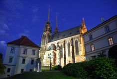 för paul peter för brno domkyrka tjeckisk st republik Royaltyfria Bilder