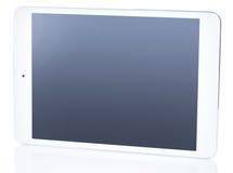 för PCtablet för bakgrund 3d white Arkivbild